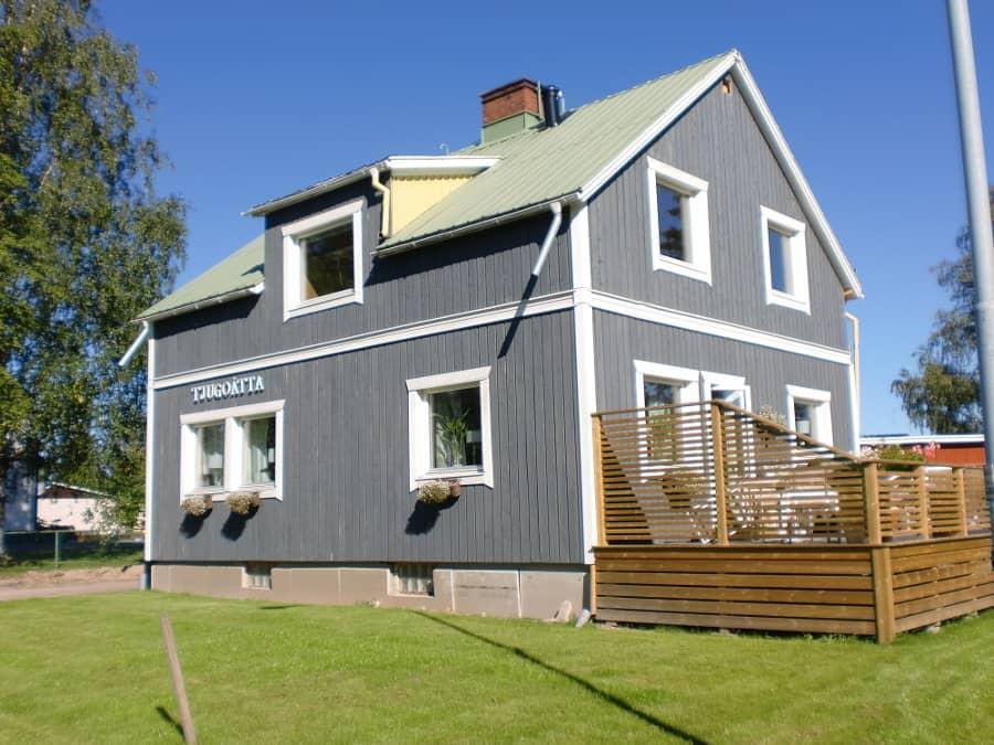 Onwijs Houten huis verven? Moose Färg Zweedse houtverf: zeer kosteneffectief UA-76