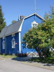Sommarblå een bijzondere Scandinavische verf kleur