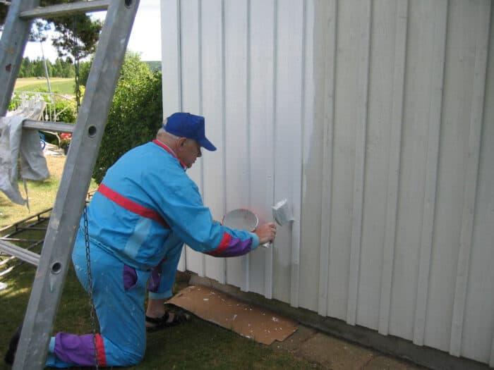 huis schilderen houtcoating