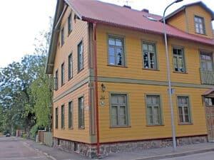 Oker en groen in Pärnu Estland
