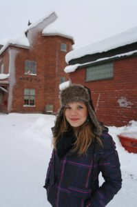 Ryanne Smit in Kiruna