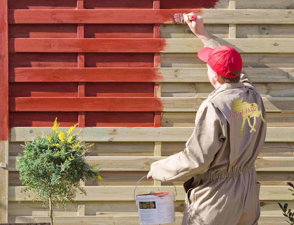 Verwonderlijk Geimpregneerd hout schilderen, geimpregneerd hout verven, beitsen LU-76