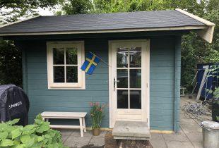 stuga Zweeds blauw
