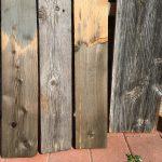 houtvergrijzen grenen