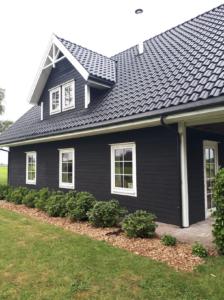 Huis Friesland Vasa Swart diepzwart