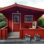 Tuinhuis falu rood zweeds rood verven