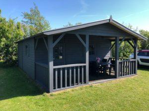 Watersnip blytungsgra camping hut